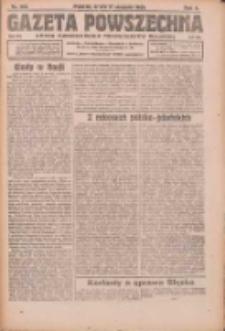 Gazeta Powszechna: organ Zjednoczenia Producentów Rolnych 1921.08.17 R.2 Nr168