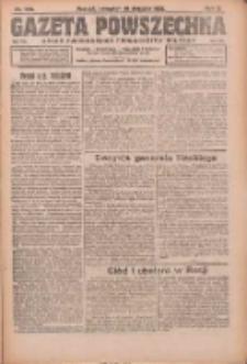 Gazeta Powszechna: organ Zjednoczenia Producentów Rolnych 1921.08.18 R.2 Nr169