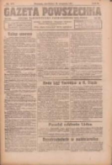 Gazeta Powszechna: organ Zjednoczenia Producentów Rolnych 1921.08.21 R.2 Nr172