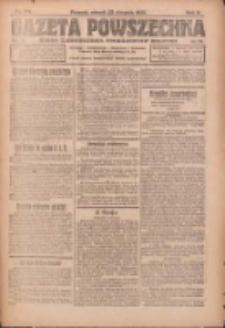 Gazeta Powszechna: organ Zjednoczenia Producentów Rolnych 1921.08.23 R.2 Nr173