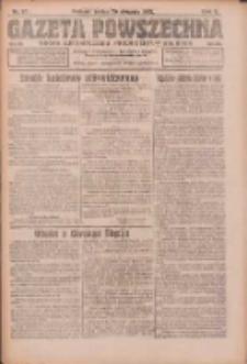 Gazeta Powszechna: organ Zjednoczenia Producentów Rolnych 1921.08.26 R.2 Nr176