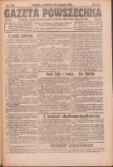 Gazeta Powszechna: organ Zjednoczenia Producentów Rolnych 1921.08.28 R.2 Nr178
