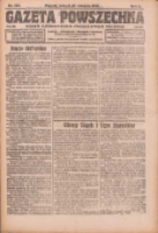 Gazeta Powszechna: organ Zjednoczenia Producentów Rolnych 1921.08.30 R.2 Nr179