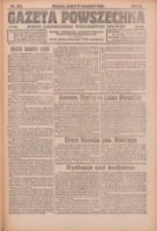 Gazeta Powszechna: organ Zjednoczenia Producentów Rolnych 1921.09.02 R.2 Nr182