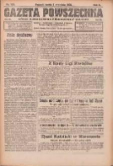 Gazeta Powszechna: organ Zjednoczenia Producentów Rolnych 1921.09.07 R.2 Nr186