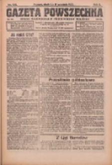 Gazeta Powszechna: organ Zjednoczenia Producentów Rolnych 1921.09.11 R.2 Nr190