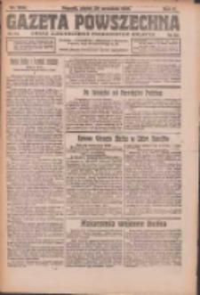 Gazeta Powszechna: organ Zjednoczenia Producentów Rolnych 1921.09.30 R.2 Nr206