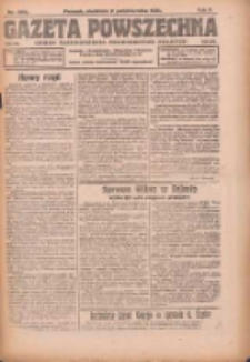 Gazeta Powszechna: organ Zjednoczenia Producentów Rolnych 1921.10.02. R.2 Nr208