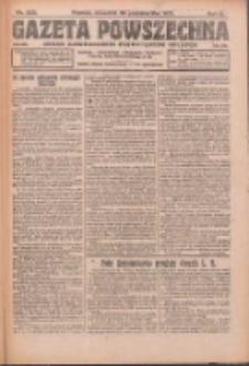 Gazeta Powszechna: organ Zjednoczenia Producentów Rolnych 1921.10.20 R.2 Nr223