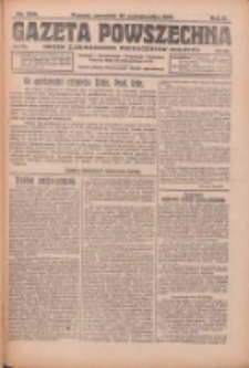 Gazeta Powszechna: organ Zjednoczenia Producentów Rolnych 1921.10.27 R.2 Nr229