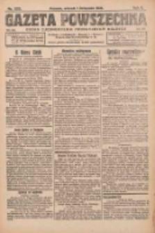 Gazeta Powszechna: organ Zjednoczenia Producentów Rolnych 1921.11.01 R.2 Nr233