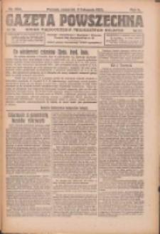 Gazeta Powszechna: organ Zjednoczenia Producentów Rolnych 1921.11.03 R.2 Nr234