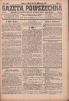 Gazeta Powszechna: organ Zjednoczenia Producentów Rolnych 1921.11.27 R.2 Nr255