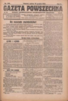 Gazeta Powszechna: organ Zjednoczenia Producentów Rolnych 1921.12.10 R.2 Nr265