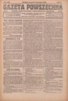 Gazeta Powszechna: organ Zjednoczenia Producentów Rolnych 1921.12.15 R.2 Nr269