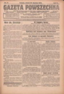 Gazeta Powszechna: organ Zjednoczenia Producentów Rolnych 1923.01.23 R.4 Nr17