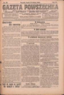 Gazeta Powszechna: organ Zjednoczenia Producentów Rolnych 1923.02.14 R.4 Nr35
