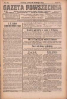 Gazeta Powszechna: organ Zjednoczenia Producentów Rolnych 1923.02.15 R.4 Nr36
