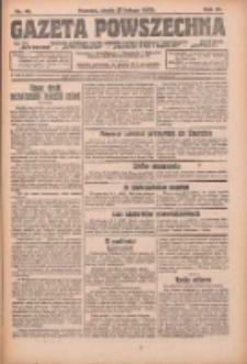 Gazeta Powszechna: organ Zjednoczenia Producentów Rolnych 1923.02.21 R.4 Nr41
