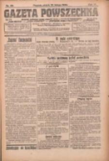 Gazeta Powszechna: organ Zjednoczenia Producentów Rolnych 1923.02.23 R.4 Nr43