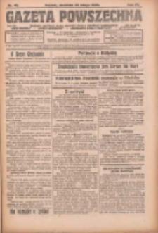 Gazeta Powszechna: organ Zjednoczenia Producentów Rolnych 1923.02.25 R.4 Nr45
