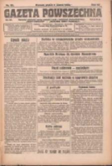 Gazeta Powszechna: organ Zjednoczenia Producentów Rolnych 1923.03.09 R.4 Nr55