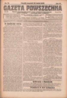 Gazeta Powszechna: organ Zjednoczenia Producentów Rolnych 1923.03.29 R.4 Nr72