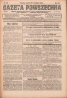 Gazeta Powszechna: organ Zjednoczenia Producentów Rolnych 1923.04.10 R.4 Nr81