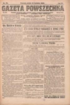 Gazeta Powszechna: organ Zjednoczenia Producentów Rolnych 1923.04.13 R.4 Nr84