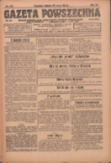 Gazeta Powszechna: organ Zjednoczenia Producentów Rolnych 1923.05.26 R.4 Nr117