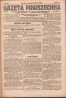 Gazeta Powszechna: organ Zjednoczenia Producentów Rolnych 1923.07.19 R.4 Nr161