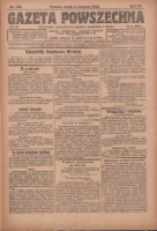 Gazeta Powszechna: organ Zjednoczenia Producentów Rolnych 1923.08.08 R.4 Nr178