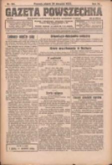 Gazeta Powszechna: organ Zjednoczenia Producentów Rolnych 1923.08.24 R.4 Nr191