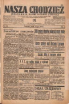 Nasza Chodzież: organ poświęcony obronie interesów narodowych na zachodnich ziemiach Polski 1935.07.03 R.6 Nr150