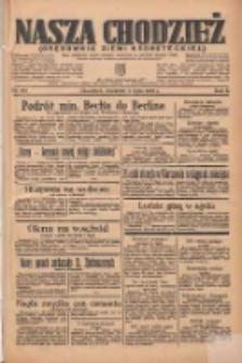 Nasza Chodzież: organ poświęcony obronie interesów narodowych na zachodnich ziemiach Polski 1935.07.04 R.6 Nr151