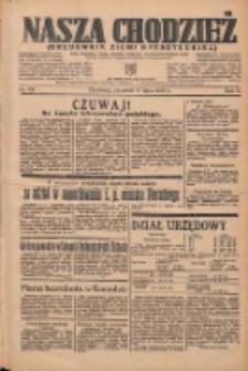 Nasza Chodzież: organ poświęcony obronie interesów narodowych na zachodnich ziemiach Polski 1935.07.11 R.6 Nr157