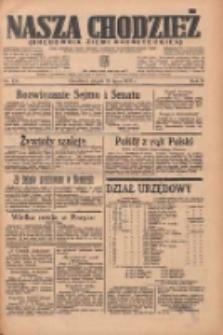 Nasza Chodzież: organ poświęcony obronie interesów narodowych na zachodnich ziemiach Polski 1935.07.12 R.6 Nr158