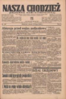 Nasza Chodzież: organ poświęcony obronie interesów narodowych na zachodnich ziemiach Polski 1935.07.23 R.6 Nr167