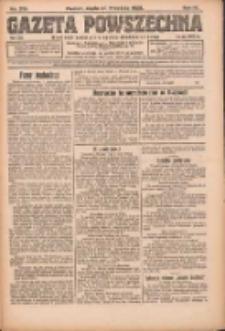 Gazeta Powszechna: organ Zjednoczenia Producentów Rolnych 1923.09.26 R.4 Nr219