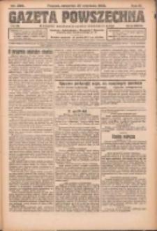 Gazeta Powszechna: organ Zjednoczenia Producentów Rolnych 1923.09.27 R.4 Nr220