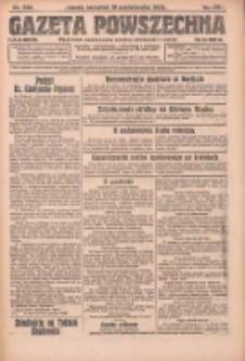 Gazeta Powszechna: organ Zjednoczenia Producentów Rolnych 1923.10.18 R.4 Nr238