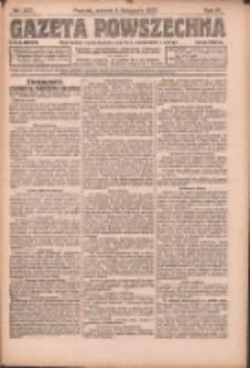 Gazeta Powszechna: organ Zjednoczenia Producentów Rolnych 1923.11.06 R.4 Nr250