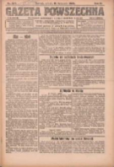 Gazeta Powszechna: organ Zjednoczenia Producentów Rolnych 1923.11.10 R.4 Nr254
