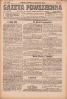Gazeta Powszechna: organ Zjednoczenia Producentów Rolnych 1923.11.11 R.4 Nr255