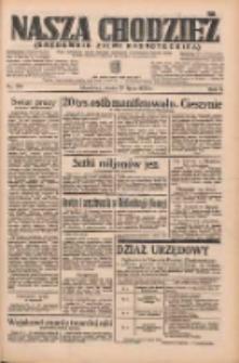 Nasza Chodzież: organ poświęcony obronie interesów narodowych na zachodnich ziemiach Polski 1935.07.31 R.6 Nr174