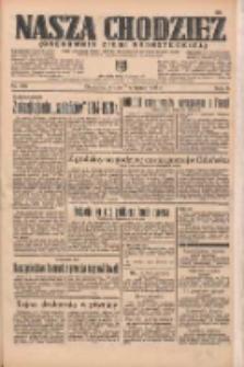 Nasza Chodzież: organ poświęcony obronie interesów narodowych na zachodnich ziemiach Polski 1935.08.07 R.6 Nr180