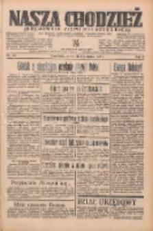 Nasza Chodzież: organ poświęcony obronie interesów narodowych na zachodnich ziemiach Polski 1935.08.08 R.6 Nr181