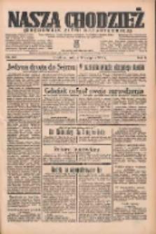 Nasza Chodzież: organ poświęcony obronie interesów narodowych na zachodnich ziemiach Polski 1935.08.10 R.6 Nr183