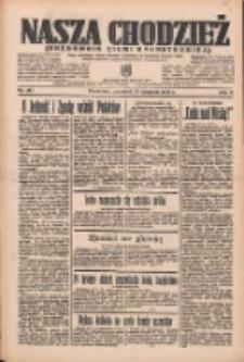 Nasza Chodzież: organ poświęcony obronie interesów narodowych na zachodnich ziemiach Polski 1935.08.15 R.6 Nr187