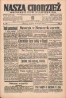 Nasza Chodzież: organ poświęcony obronie interesów narodowych na zachodnich ziemiach Polski 1935.08.18 R.6 Nr189